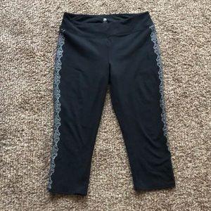 Capri exercise pants